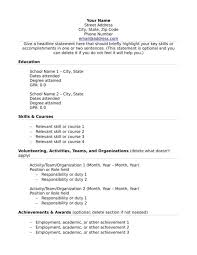 What To Include In A Resume If You Lack Experience Sample Templates Stunning What To Put On Resume If No Experience