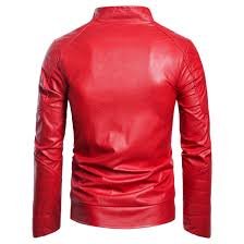 faux leather jacket for men stand winter er pu jackets tousis net bd