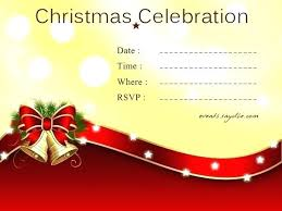 Sample Of Christmas Party Invitation Dinner Tation Email In Addition To Party On Holiday Wording