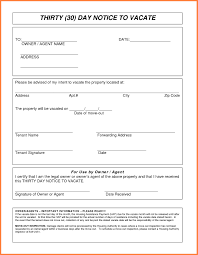 template letter notice to vacate inspirationa 9 30 day notice to vacate letter template
