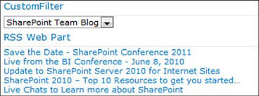 Chapter 14 Connecting Web Parts Sharepoint 2010 Web Parts