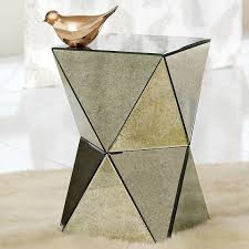 mirror accent table. mirror side table accent