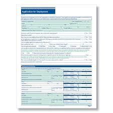 Generic Blank Job Application Downloadable Blank Job Applications For Hourly Applicants Hiring Forms