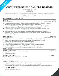 Additional Resume Skills Resume Skills Section Sample Administrativelawjudge Info