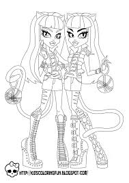 Small Picture Coloring Pages Baby Monster High Coloring Pages Monster High