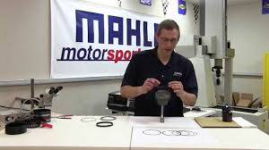 Mahle Ring Gap Chart Installing Rings On The Piston