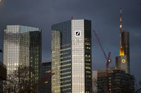 The commerzbank tower is a modern skyscraper donning the skyline of frankfurt. Merger Talks Of Deutsche Bank And Commerzbank Roil Emotions The New York Times