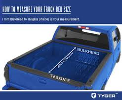 TYGER RoLock Low Profile Roll-Up Truck Bed Tonneau Cover For 2005 ...