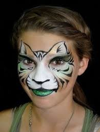 cat face paint google search