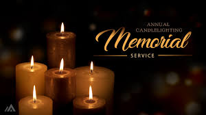 Candle Lighting 2018 Annual Candle Lighting Memorial Service Alliance Community