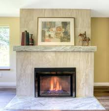 brick fireplace with hearth ideas uk facade replacement federal