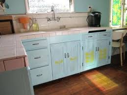 blue painted kitchen cabinets. Painting Kitchen Cabinets Blue Painted With Cabinet Light A