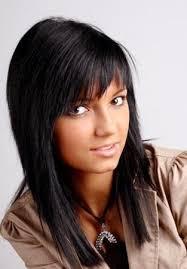 Coupe De Cheveux Femme Long Noir