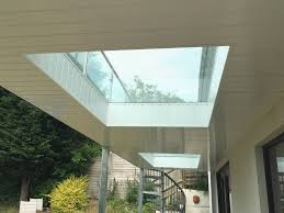 Decking That Lets Light Through Glass Flooring For Balconies From Sunrock Balconies