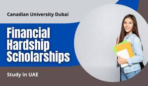 Financial Hardship Scholarships for international awards at Canadian  University Dubai, UAE