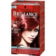 Färga håret rött från svart