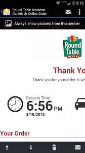photo of round table pizza manteca ca united states email confirmation of