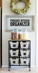 For Kitchen Organization Produce Kitchen Organization A Night Owl Blog