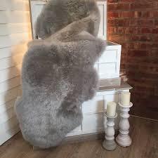 sweetlooking gray sheepskin rug area easy target rugs polypropylene as