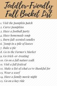 need some fun ideas for things you can do your toddler or need some fun ideas for things you can do your toddler or preschooler this fall fall bucket liststhanksgiving