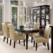 Cream Dining Room Sets  Thejotsnet - Dark wood dining room tables
