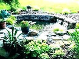 garden fish pond cleaning backyard ponds building outdoor heater small landsc