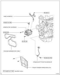 Toyota RAV4 Service Manual: Crankshaft position sensor - 2Az-fe ...