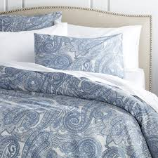 update bedrooms with stylish duvet covers crate and barrel inside blue grey plan 16