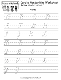 Learn To Write Cursive Worksheets Worksheets for all | Download ...