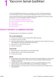 HP LaserJet 9040/9050 User Guide TRWW Laser Jet Kullanım Kılavuzu C00191905