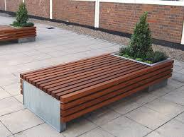 matchbox planter bench