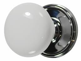 Concept Modern Glass Door Knobs White Porcelain Chrome Knob Throughout On Decorating Ideas