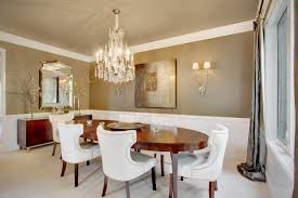 Modern Crystal Chandeliers For Dining Room Dining Rooms With Chandeliers Photo Album Home Decoration Ideas