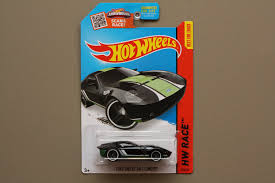 Hot Wheels 2015 HW Race Ford Shelby GR-1 Concept (black)