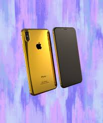 iphone 8 gold. your inner kim kardashian needs this 24k-gold iphone 8 iphone gold a