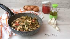 Pasticcio di fagiolini cotti in padella con uova e mozzarella | Ricetta |  Fagiolini, Ricette, Cucinare le verdure