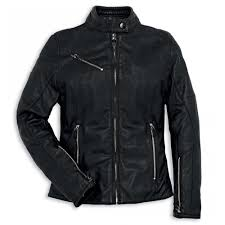 ducati dainese women s downtown leather jacket