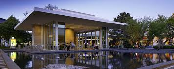 oakbrook center restaurants il. oakbrook center entrance, which is; an outdoor seating area surrounded by a decorative pond is popular spot for visitors at restaurants il