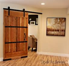 sliding barn doors. Sliding Barn Door Home Office Decorating Ideas With Sherwin Williams Dunes And Metal Hardware Doors