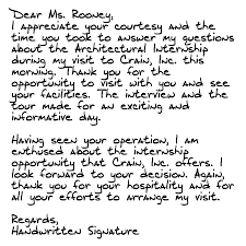 Best Solutions Of Sample Handwritten Thank You Letter After