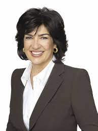 Photo of Christiane Amanpour and her ...