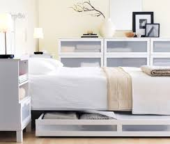 ... Divine Images Of Bedroom Decoration Using Ikea White Bedroom Furniture  : Divine Modern White Bedroom Decoration ...