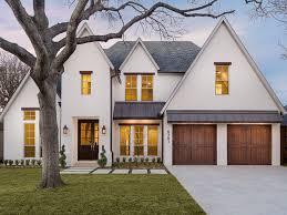 majestic white house black windows ideas