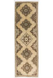 antique washed runner rug 3 6 x 11 7 108 x 354 cm beige and brown color vintage overdyed handmade turkish runner rug turkish overdyed runner rug