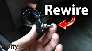 how to rewire power through ignition switch in your car youtube  at 1984 Mercury Lynx Fuse Box Outline