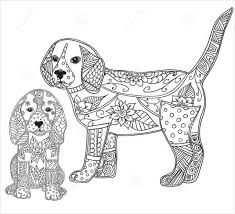 Explore 623989 free printable coloring pages for you can use our amazing online tool to color and edit the following realistic puppy coloring pages. 9 Puppy Coloring Pages Jpg Ai Illustrator Download Free Premium Templates