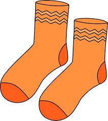 orange clipart png. pair of orange socks clip art clipart png
