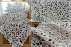 Crochet Table Runner Patterns Easy