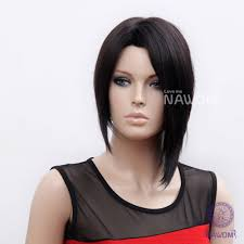 Wonder Woman Hair Style new 2014 free shipping 100 kanekalon black straight womens wig 1613 by wearticles.com