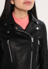 lee perfecto leather jacket black kh4zmvvr